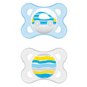MAM original silicone soother 0-6M Boy (2 pieces)