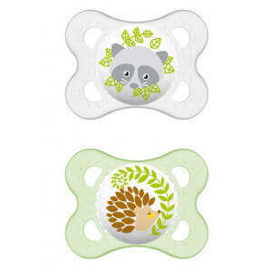 MAM original silicone soother 0-6M unisex (2 pieces)