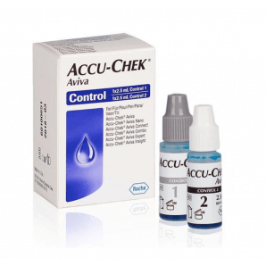 Accu-Chek Aviva control solution (2 x 2.5ml)
