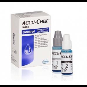 Accu-Chek Aviva la solution de contrôle (2 x 2,5 ml)