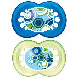 MAM Original Silicone Soother 16-36M Boy (2 pcs)
