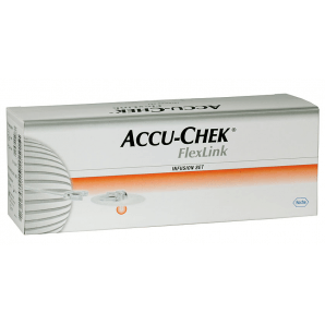 Accu-Chek FlexLink infusion set 6mm x 60cm (10 pieces)