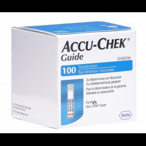 Accu-Chek Guide des bandelettes de test (100 pièces)