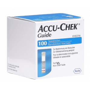 Accu-Chek Guide test strips (100 pieces)