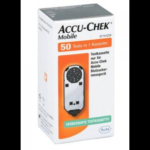 Accu-Chek Mobile une cassette de test (50 pièces)