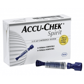 Accu-Chek Spirit ampoule system 3.15ml (25 pcs)