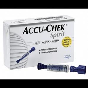 Accu-Chek Spirit le système d'ampoules 3,15 ml (25 pièces)