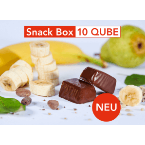 Swiss-QUBE Snack Box Bane (10 Qubes)