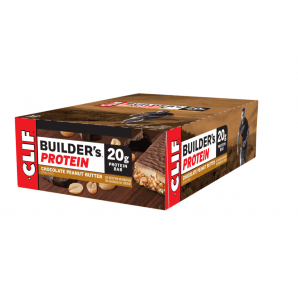 Clif bar Builder's Protein Choco Peanut Butter (12x68g)