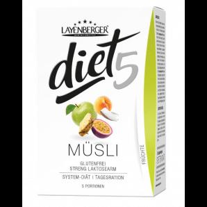 Layenberger diet5 muesli fruits (5x45g)