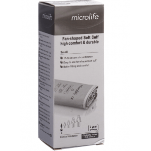Microlife Manschette Oberarm Anthra S (17-22cm)