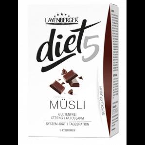 Layenberger diet5 Müsli Schoko-Crunchy (5x45g)