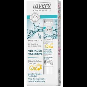 Lavera Basis Sensitive Crème Contour des Yeux Anti-Rides (15 ml)