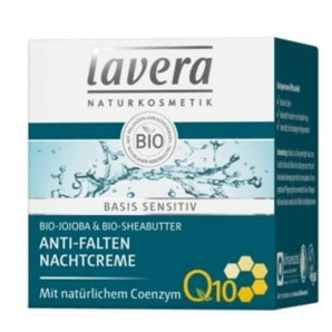 Lavera Anti-Wrinkle Night Cream Basis Sensitive (50ml)