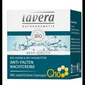 Lavera Basis Sensitiv Anti-Falten Nachtcreme (50ml)