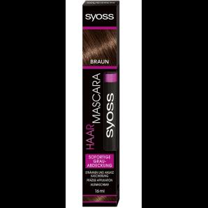 Syoss cheveux brun chocolat le mascara (16 ml)