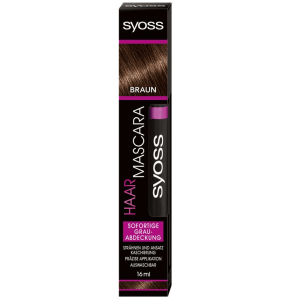 Syoss hair mascara black (16ml)