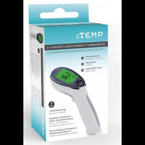 1TEMP 3in1 kontaktloses Infrarot Thermometer (1 Sec)