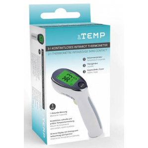 1TEMP 3in1 thermomètre infrarouge sans contact (1 sec)