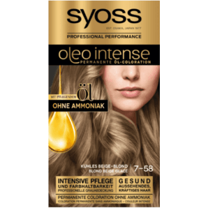 Syoss Oleo Intense 7-58 cool beige blond