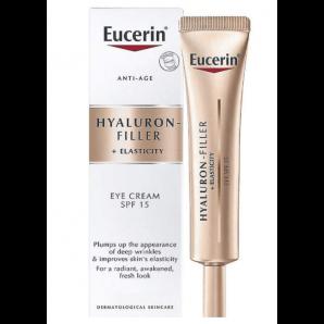 Eucerin HYALURON-FILLER + ELASTICITY le soin des yeux (15ml)