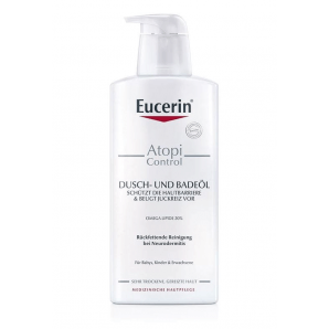 Eucerin AtopiControl SHOWER AND BATH OIL (400ml)