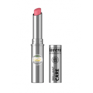 Lavera Beautiful Lips Brilliant Care Lipstick Q10 -Strawberry Pink 02- (1.7g)