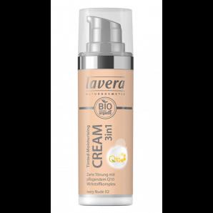 Lavera Crème Hydratante Teintée 3en1 Q10 -Ivory Nude 02- (30ml)