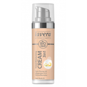 Lavera Tinted Moisturising Cream 3in1 Q10 -Ivory Nude 02- (30ml)
