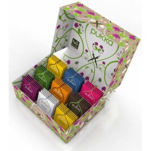 Pukka Selection Box Organic Tea 2020 (45 bags)