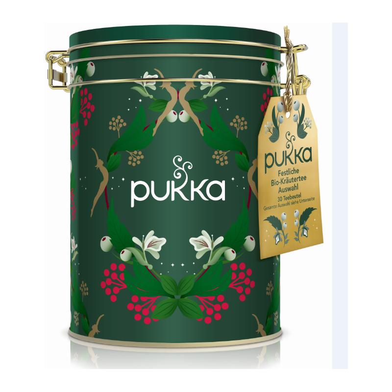 Pukka gift box green (30 bags)