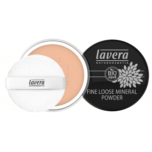 Lavera Fine Loose Mineral Powder -Honey 03- (8g)