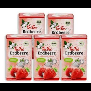 TeeFee Früchtetee Erdbeere (5x20 Stk)