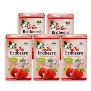 TeeFee Fruit Tea Strawberry (5x20 pieces)