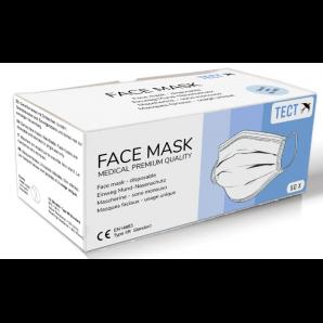 TECT Medizinische Mundschutzmaske Typ IIR (50 Stk)