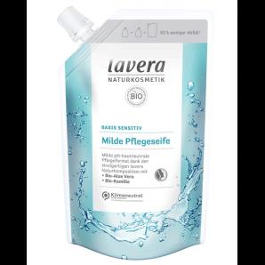 Lavera recharge sac de savon de soin doux base sensitv (500ml)