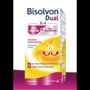 Bisolvon Dual 2 en 1 sirop contre la toux (100ml)
