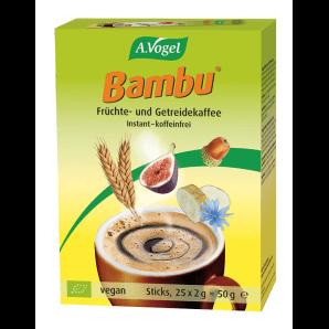 A. Vogel Bambu café instantané aux fruits et grains (25x2g)