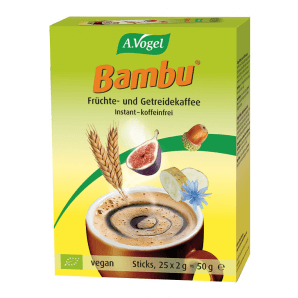 A. Vogel Bambu instant fruit and grain coffee (25x2g)
