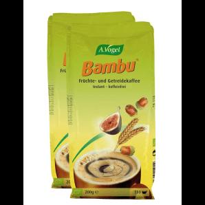 A. Vogel Bambu Früchte- und Getreidekaffee Nachfüllbeutel (2x200g)