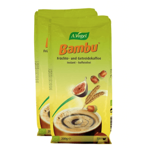 A. Vogel Bambu instant fruit and grain coffee refill (2x200g)