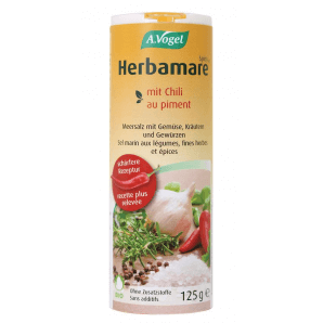 A. Vogel Herbamare Spicy Sea Salt with Chili Table Shaker (125g)