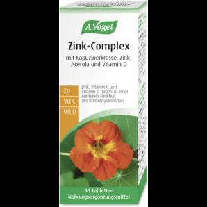 A. Vogel des comprimés de complexe de zinc (30 pièces)