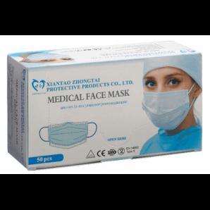 ZHONGTAI Medizinische Gesichtsmaske Typ II (50 Stk)
