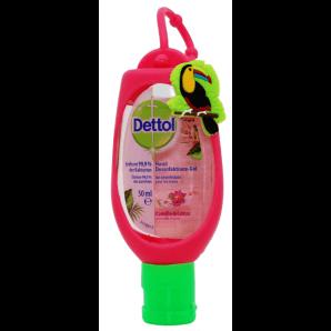 Dettol hand disinfectant gel chamomile & lotus (50ml)