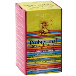 Sonnentor Ty It! Organic Tea Variations (20 pcs)
