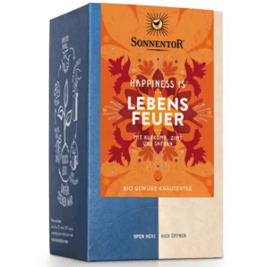 Sonnentor Happiness Fire Of Life Organic Tea (18x1.7g)