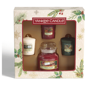 Yankee Candle Christmas Morning Geschenkset (4-teilig)