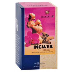 Sonnentor Organic Ginger Energy Tea (18x1.8g)