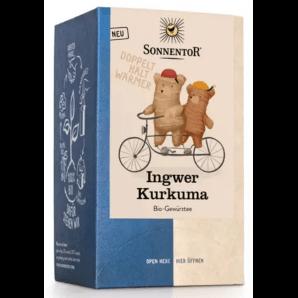 Sonnentor Ginger Turmeric Organic Tea (18x1.8g)